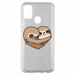 Чохол для Samsung M30s Love sloths