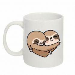 Кружка 320ml Love sloths