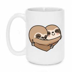 Кружка 420ml Love sloths