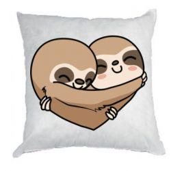 Подушка Love sloths