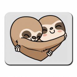 Килимок для миші Love sloths