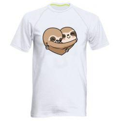 Чоловіча спортивна футболка Love sloths