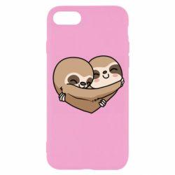 Чохол для iPhone 7 Love sloths