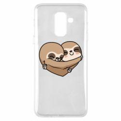 Чохол для Samsung A6+ 2018 Love sloths