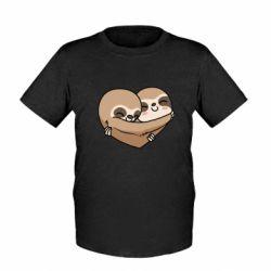 Дитяча футболка Love sloths