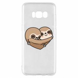 Чохол для Samsung S8 Love sloths