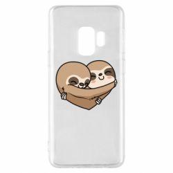 Чохол для Samsung S9 Love sloths