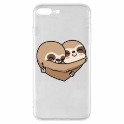 Чохол для iPhone 8 Plus Love sloths