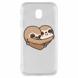 Чохол для Samsung J3 2017 Love sloths