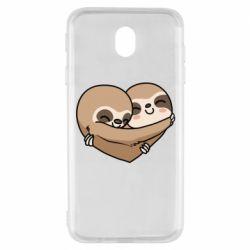 Чохол для Samsung J7 2017 Love sloths