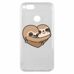 Чехол для Xiaomi Mi A1 Love sloths