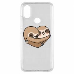 Чехол для Xiaomi Mi A2 Love sloths