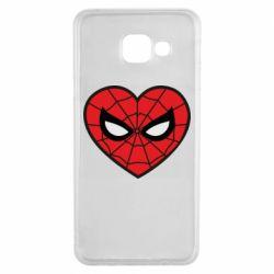 Чохол для Samsung A3 2016 Love spider man