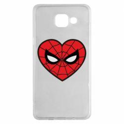 Чохол для Samsung A5 2016 Love spider man