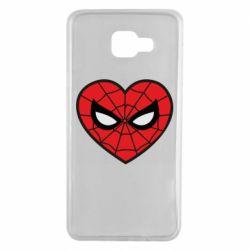 Чохол для Samsung A7 2016 Love spider man