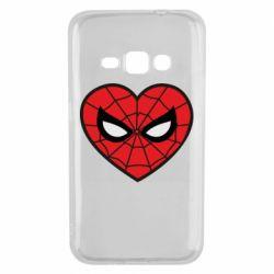 Чохол для Samsung J1 2016 Love spider man