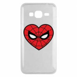 Чохол для Samsung J3 2016 Love spider man