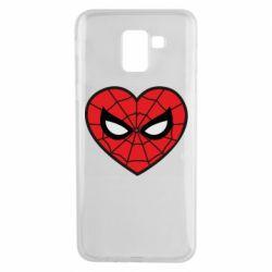 Чохол для Samsung J6 Love spider man