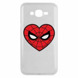 Чохол для Samsung J7 2015 Love spider man
