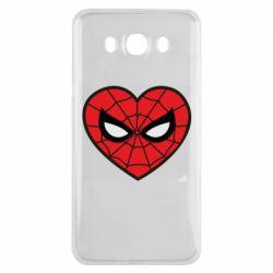 Чохол для Samsung J7 2016 Love spider man