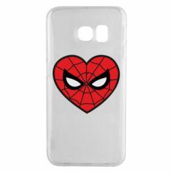 Чохол для Samsung S6 EDGE Love spider man