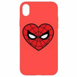 Чохол для iPhone XR Love spider man