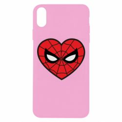 Чохол для iPhone Xs Max Love spider man