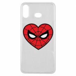 Чохол для Samsung A6s Love spider man