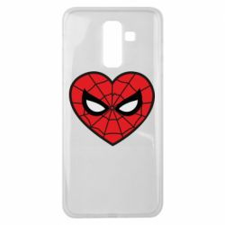 Чохол для Samsung J8 2018 Love spider man