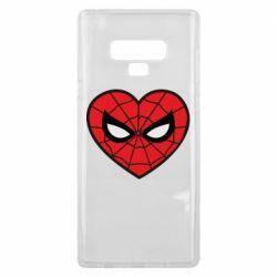 Чохол для Samsung Note 9 Love spider man