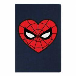 Блокнот А5 Love spider man