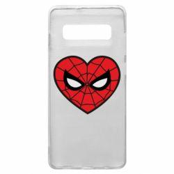 Чохол для Samsung S10+ Love spider man