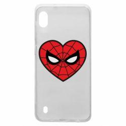Чохол для Samsung A10 Love spider man