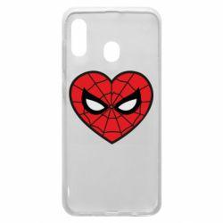 Чохол для Samsung A20 Love spider man