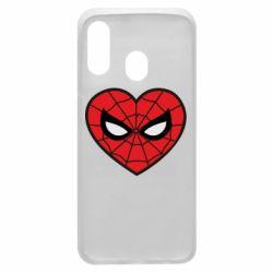 Чохол для Samsung A40 Love spider man