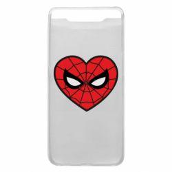 Чохол для Samsung A80 Love spider man