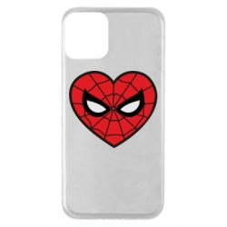 Чохол для iPhone 11 Love spider man