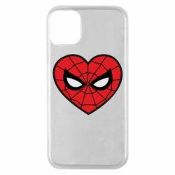 Чохол для iPhone 11 Pro Love spider man