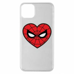 Чохол для iPhone 11 Pro Max Love spider man