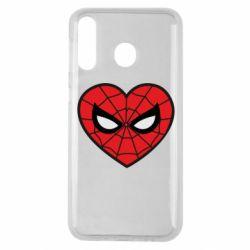 Чохол для Samsung M30 Love spider man