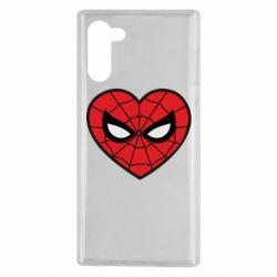 Чохол для Samsung Note 10 Love spider man