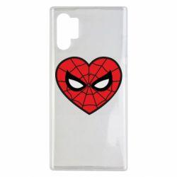 Чохол для Samsung Note 10 Plus Love spider man