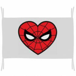 Прапор Love spider man