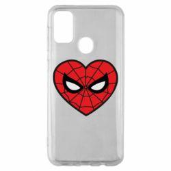 Чохол для Samsung M30s Love spider man