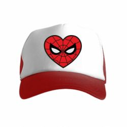Дитяча кепка-тракер Love spider man