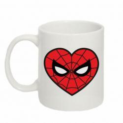 Кружка 320ml Love spider man