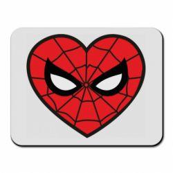 Килимок для миші Love spider man