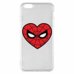 Чохол для iPhone 6 Plus/6S Plus Love spider man