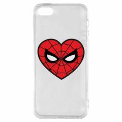 Чохол для iphone 5/5S/SE Love spider man