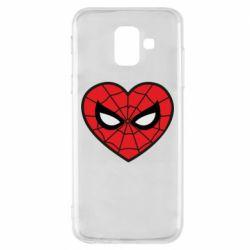 Чохол для Samsung A6 2018 Love spider man